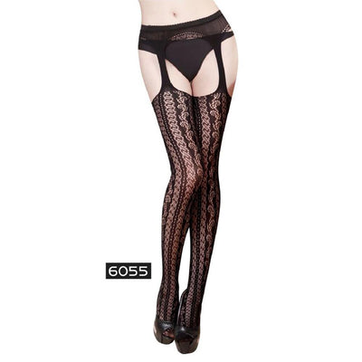 Ms Siamese High Elastic Temptation Ultra Thin Stockings Women's lingerie Sunshine China 6055