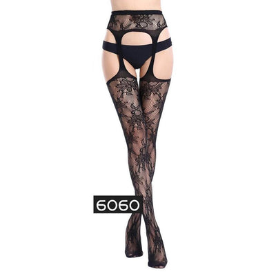 Ms Siamese High Elastic Temptation Ultra Thin Stockings Women's lingerie Sunshine China 6060
