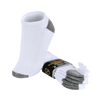 Polo Republica White / Grey Pack of 3 Low Cut Socks - ExportLeftovers.com