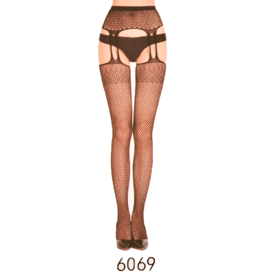 Ms Siamese High Elastic Temptation Ultra Thin Stockings Women's lingerie Sunshine China 6069