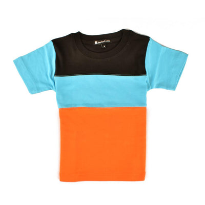 Jonathan Corey Kids Panelled Tee Shirt Boy's Tee Shirt First Choice D4 S