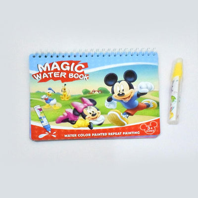 Kid's Magic Water Drawing Book Toy Sunshine China Micky Mouse