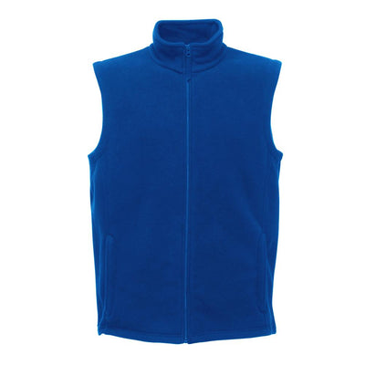 RGT Micro Fleece Men's Body Warmer Men's Gilet Image Royal XS