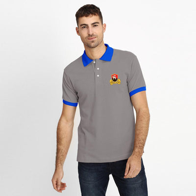 Polo Republica Redruth Rugby Polo Shirt Men's Polo Shirt Polo Republica Graphite Royal S