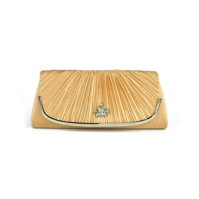 Edremit Style Satin B Quality Clutch Bag