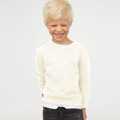 NWL Brushed Fleece Boy's Sweat Shirt Boy's Sweat Shirt SNC Cream 9 Years