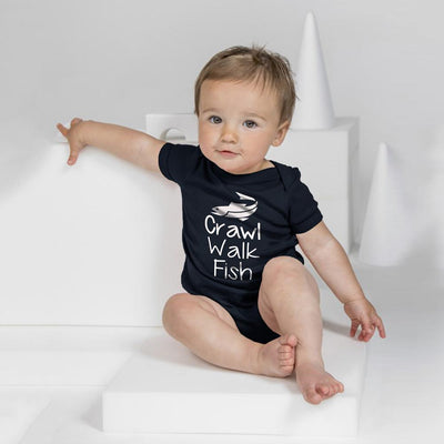 Polo Republica Crawling Baby Romper Babywear Polo Republica Navy White 0-3 Months