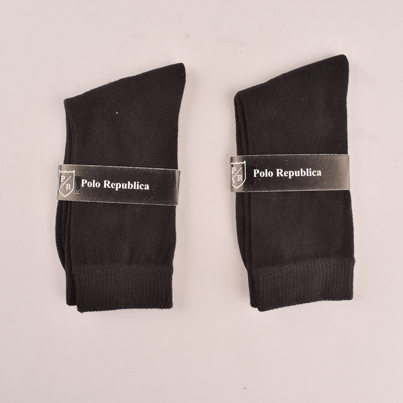 Polo Republica Kid's Enviable Pack of Two Crew Socks Socks RKI