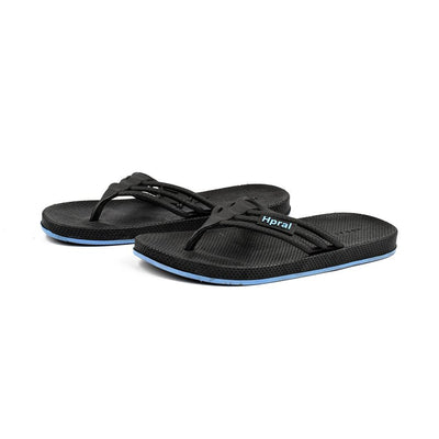Hpral Men's Burzaco Flip Flop Men's Shoes Hpral Black EUR 40