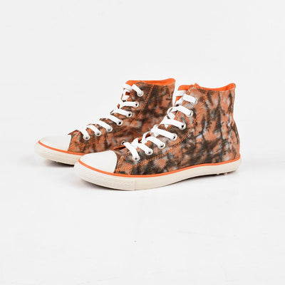 Baoda Women Chengde Ankle High Lace Up Canvas Shoes Women's Shoes AGZ Orange EUR 35