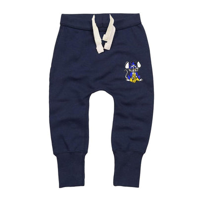 MTS Kid's Jerry Mouse Embro Sweat Pants Boy's Sweat Pants Image Navy 12-18 Months