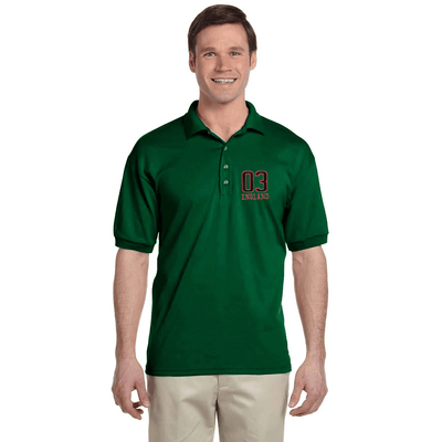 EGL England Embro Short Sleeves Polo Shirt Men's Polo Shirt Image Green XS