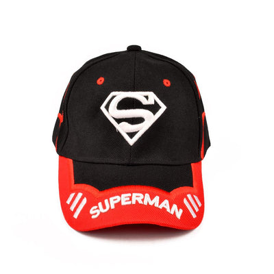 MB Superman Logo Embro P Cap Headwear MB Traders Black