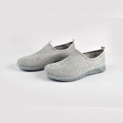 Women's Sabtawlad Breathable Canvas Shoes Women's Shoes Sunshine China Grey EUR 35