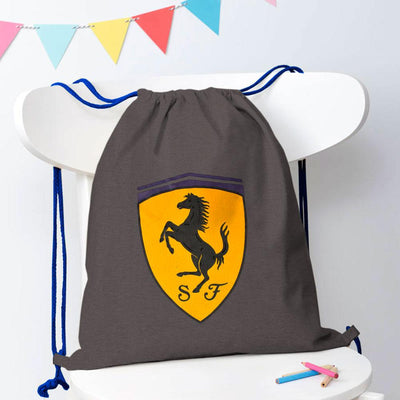 Polo Republica Amasya Drawstring Bag Drawstring Bag Polo Republica Graphite