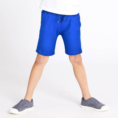 ZR Kid's Classic Solid Terry Shorts Kid's Shorts First Choice Royal 3-6 Months