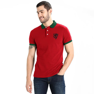 Polo Republica Reutov Polo Shirt Men's Polo Shirt Polo Republica Red Green S