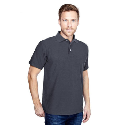DCK Zeelami Short Sleeve Polo Shirt Men's Polo Shirt Image Graphite M