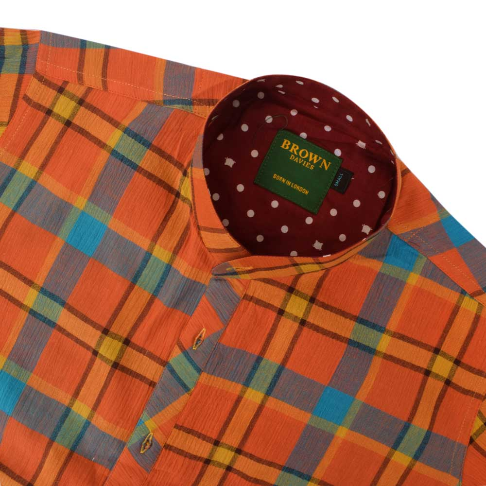 BDS Men's Carnaval Checkered Casual Shirt Men's Casual Shirt First Choice