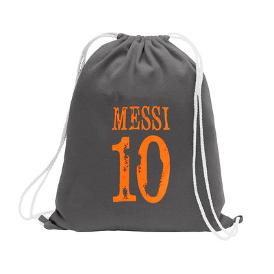 Polo Republica Messi Lovers Drawstring Bag Drawstring Bag Polo Republica Graphite Orange