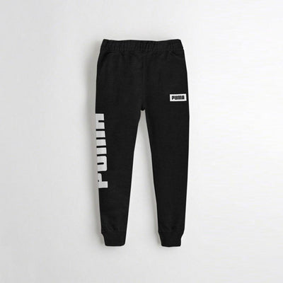 PMA Boys Luquan Terry Jogger Pants Boy's Trousers Fiza Black 2 Years