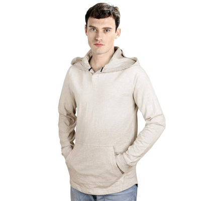 CP California Men's Dip Dyed Pullover Hoodie Men's Pullover Hoodie First Choice Oatmeal S