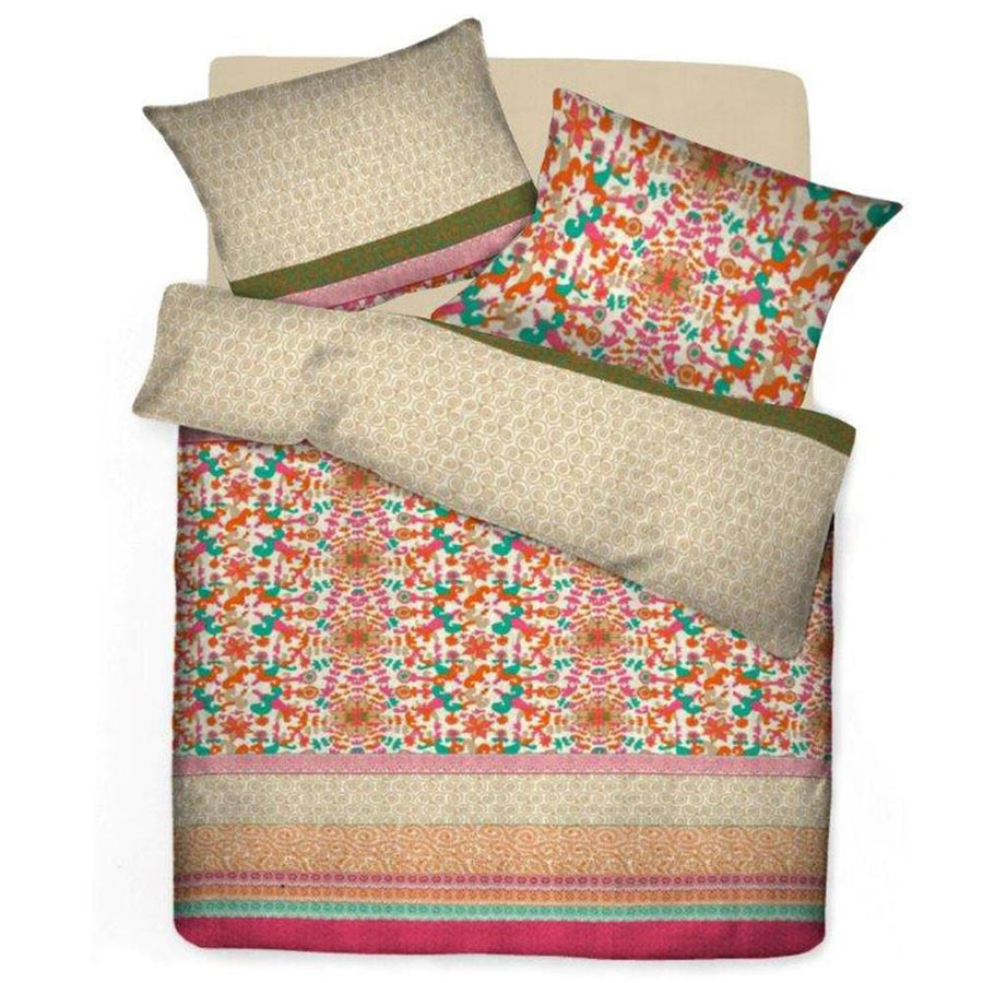 Today by Ahsan Exports Poly Cotton Double Bed Sheet Set - ExportLeftovers.com