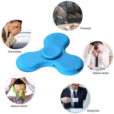 Fidget Spinner, Wireless Bluetooth Speakers Music Fidget Spinner Toy ReduceS ADHD Hand Spinner
