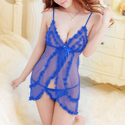 Erotic Lace Sexy Intimate Nightie Women's lingerie Sunshine China Royal