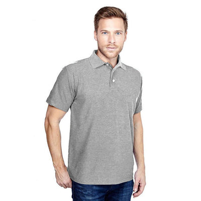 DCK Zeelami Short Sleeve Polo Shirt Men's Polo Shirt Image Heather Grey M