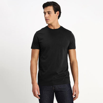 CSG Paulinia Men's Solid Tee Shirt Men's Tee Shirt First Choice Black S