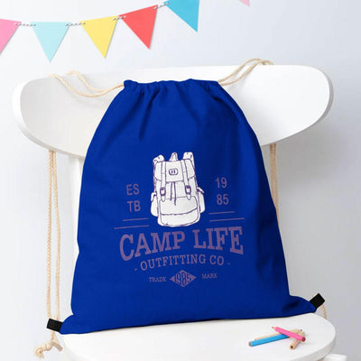 Polo Republica Camp Life Drawstring Bag Drawstring Bag Polo Republica Royal