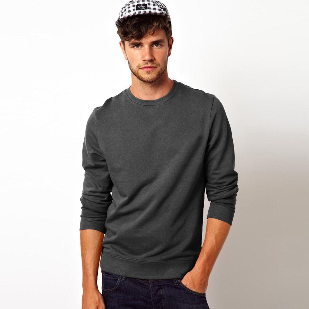 Kitrose Sweat Shirt Men's Sweat Shirt Image Charcoal S
