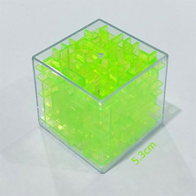Transparent 3d Beads Intelligence Decompression Rubik's Cube Toy Sunshine China Green