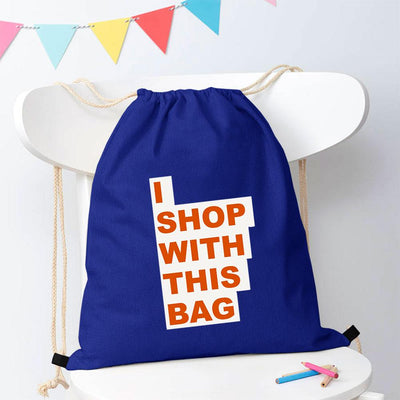Polo Republica Shop With This Bag Drawstring Bag Drawstring Bag Polo Republica Royal