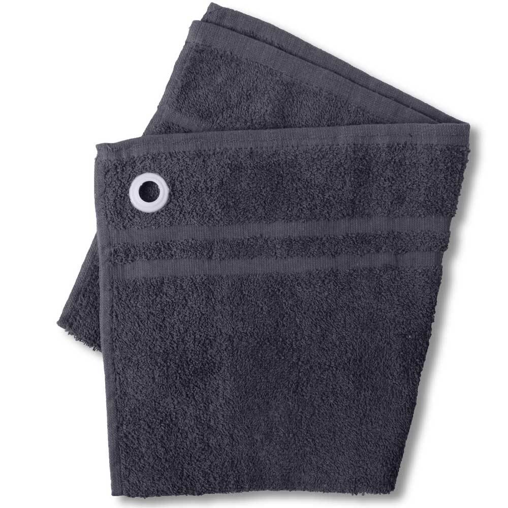 HNC Embellish Kitchen Towel with Eyelet Towel Haroon Cp Slate Grey