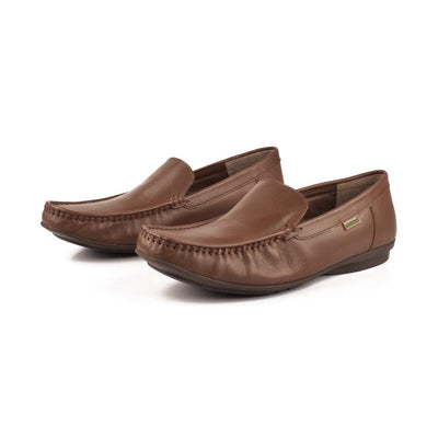 Desiderio Helsinki 032 Mocassin Shoes Men's Shoes SFS Chocolate EUR 40