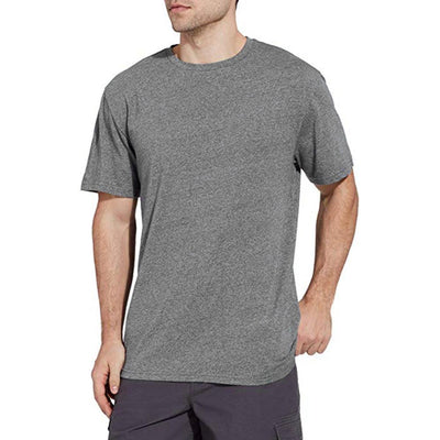 FLSRM Barilocheou Men's Melange Tee Shirt Men's Tee Shirt MAJ Grey XS