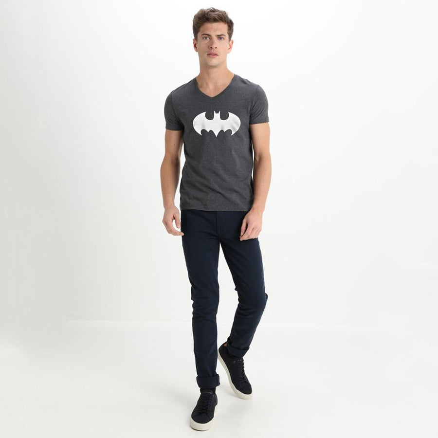 LE Batman V Neck Tee Shirt