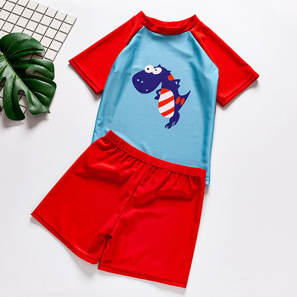 Dynasoure Design Boys 2 Pcs Swimwear Suit Swimming Suit Sunshine China S