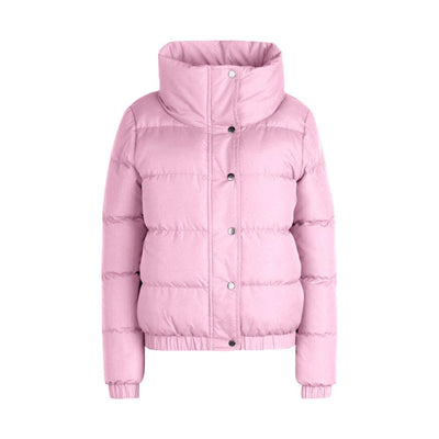 BHO Crop Funnel Neck Padded Jacket Women's Jacket Fiza Pink S