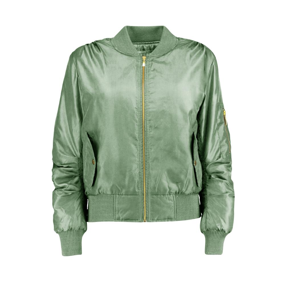Women's Rising Wenling Puffer Bomber Jacket Women's Jacket Fiza Sea Green XS