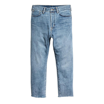 HM Relaxed Cropped High Ankle Style Denim Men's Denim SRK