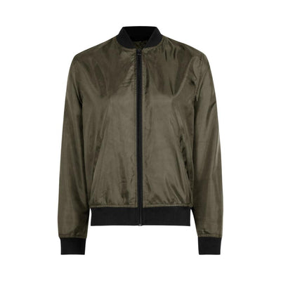 Edremtef Women's Ultra Light Bomber Jacket Women's Jacket AGZ Olive XS