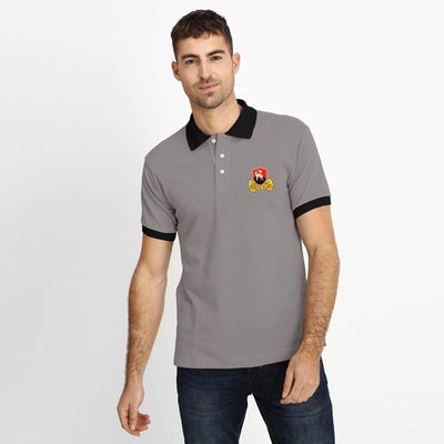 Polo Republica Redruth Rugby Polo Shirt Men's Polo Shirt Polo Republica Graphite Black S