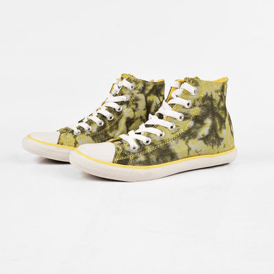 Baoda Women Chengde Ankle High Lace Up Canvas Shoes Women's Shoes AGZ Yellow EUR 35