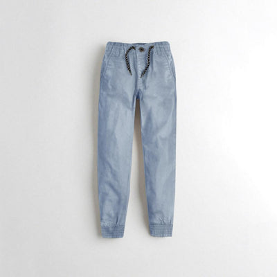 Tumble N Dry Boy's Jogger Pants Boy's Denim First Choice Powder Blue 1.5-2 Years