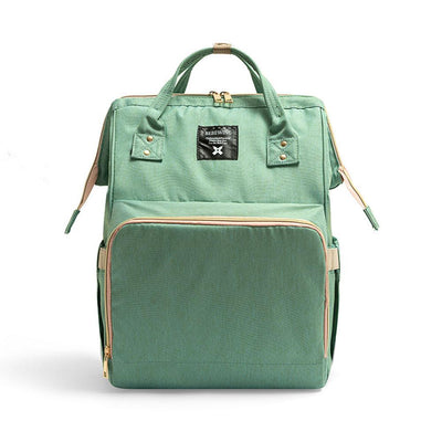 Bebewing Solid Baby Diaper Backpack Bag Women's Accessories Sunshine China Sea Green