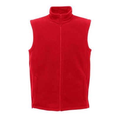 RGT Micro Fleece Men's Body Warmer Men's Gilet Image Red XS