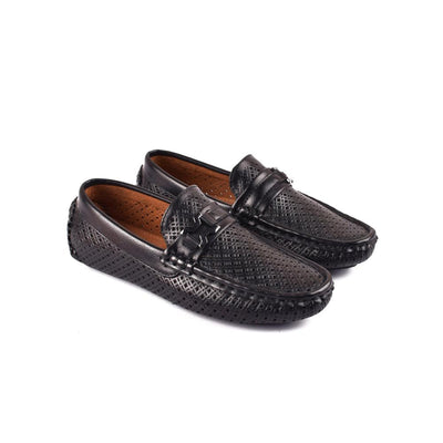 CBH Amazing Fashion Feel Good Loafers Boy's Shoes CBH Black EUR 34